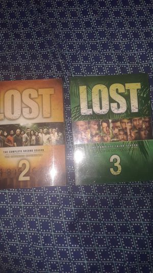 LOST: Complete Season 2 and 3- perfect condition! for Sale in Tampa, FL