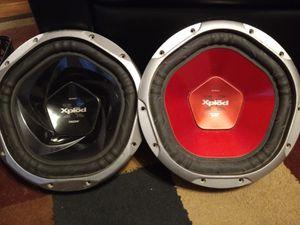 Two Sony xpiod speakers 1200& 1300 watt bass. Speakers both for 100.00 FIRM for Sale in Nashville, TN