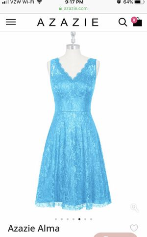 Teal blue lace womens dress for Sale in Lorton, VA