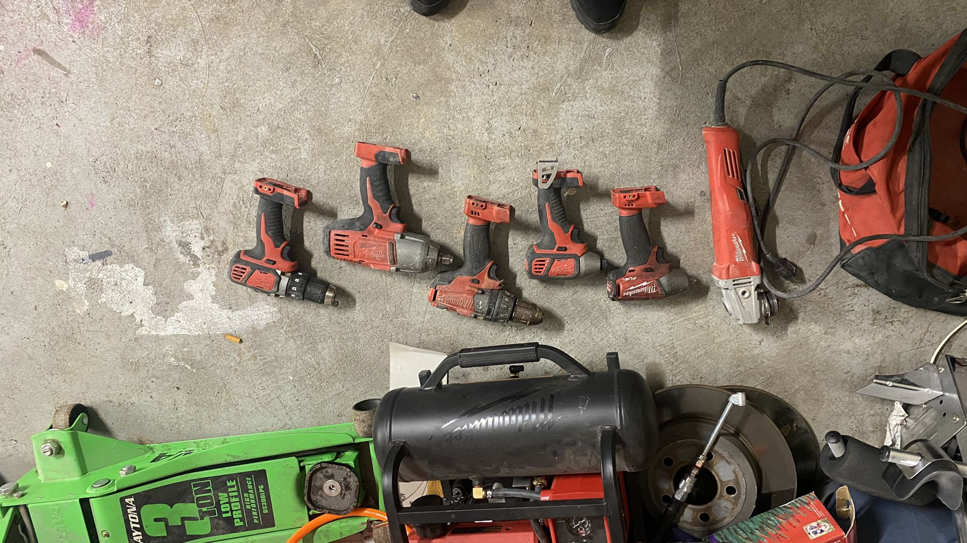 Milwaukee M18 Tools Impact And Drill
