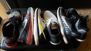 8/10, 3 pairs of Nike shoes size 11 for Sale in Alexandria, VA
