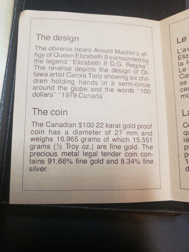 980$ 22k 16.965gram gold Coin
