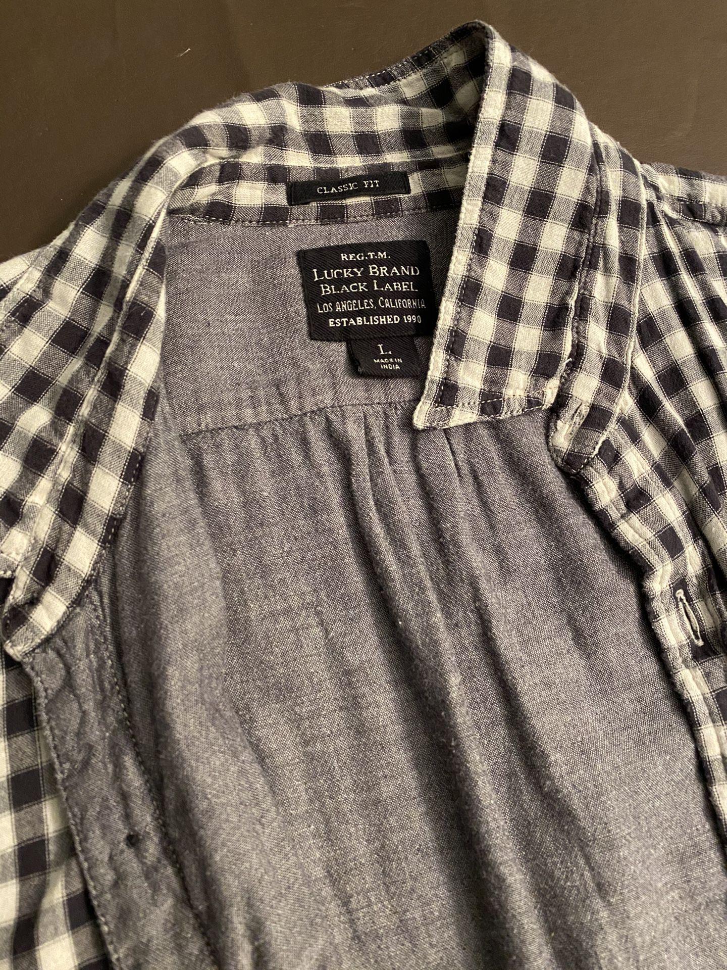 Men's Lucky Brand Long Sleeve Button Down
