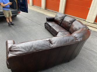 Drexel Heritage Leather Sectional  Thumbnail