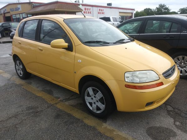 2008 Chevy Aveo 114k Miles Clean Title For Sale In Garland Tx