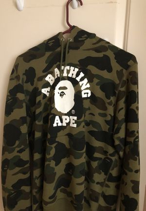 186a08bb4 Bape camo college hoodie for Sale in Union City
