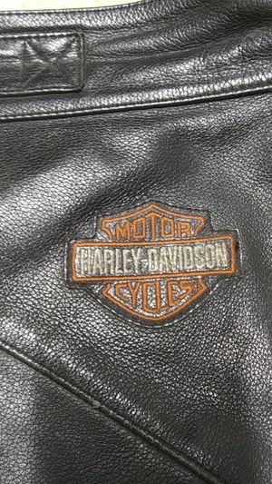 Photo Harley Davidson riding chaps size large Davidson riding chaps size large