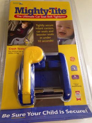 Mighty Tite Infant Child Car Seat Safety Belt Tightener New For Sale In Scranton PA