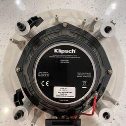 Klipsch R-1650-C In-Ceiling Speakers (1 Pair) Thumbnail