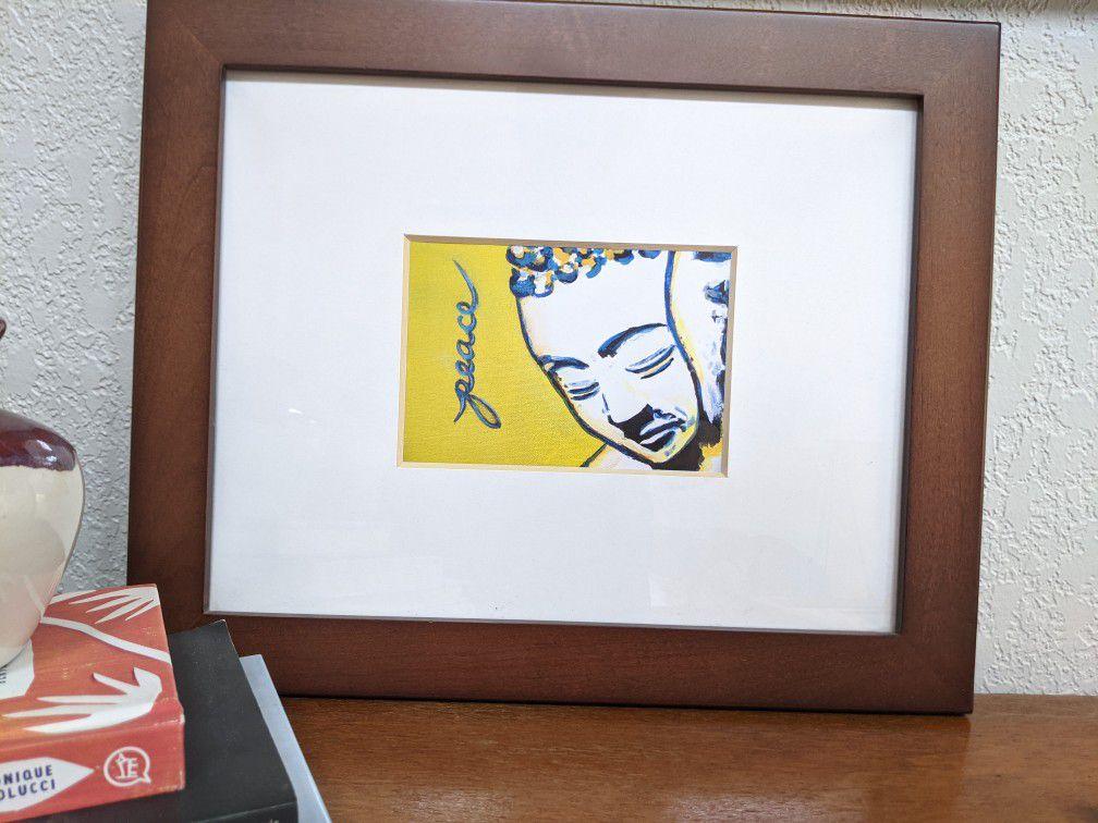 Framed Peace Print