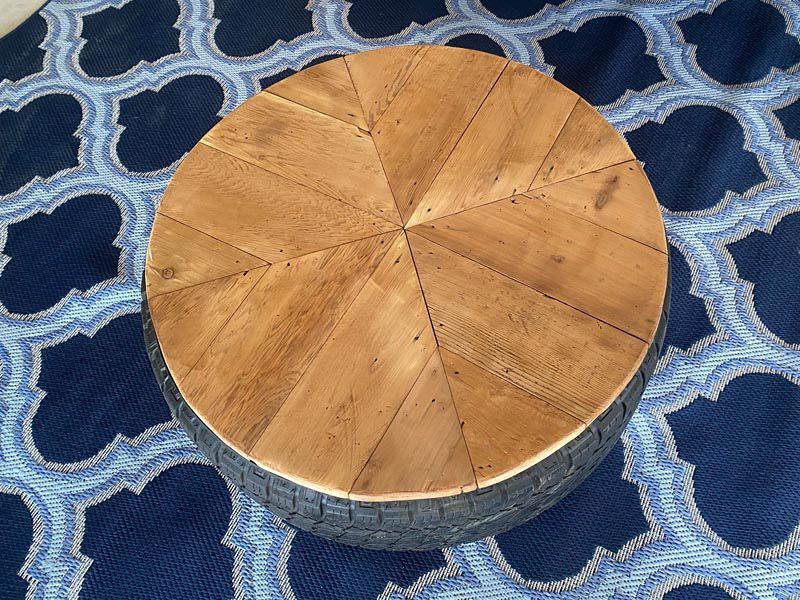 Father's Day Gift! - Tire Coffee Table