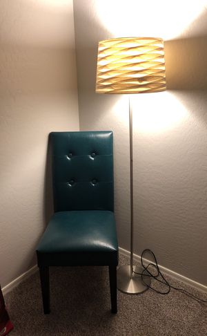 Chair and lamp for Sale in Phoenix, AZ