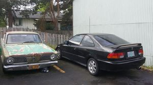 97 civic and 66 barracuda for Sale in Portland, OR