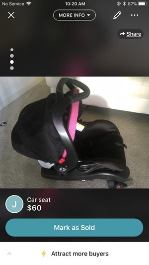 Car seat and base for Sale in Manassas, VA