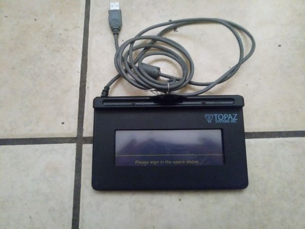 Topaz systems SigLite signature pad for pc for Sale in Albuquerque, NM -  OfferUp