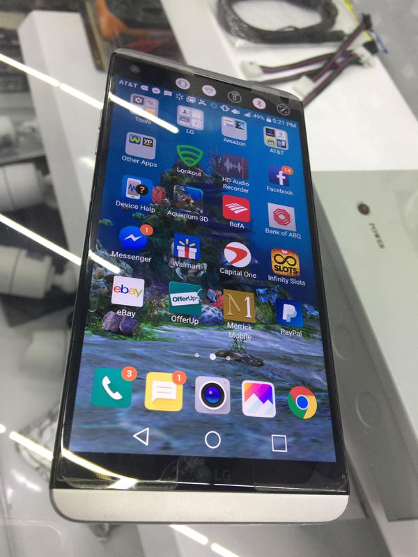 AT&T  LG V20  Unblocked  T-Mobile  Cricket for Sale in Albuquerque, NM -  OfferUp