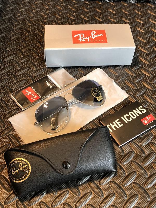 c476a36f5802d Classic Rayban Aviator Sunglasses for Sale in Irvine