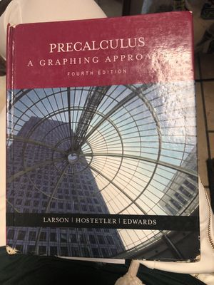 Textbook Precalculus: A Graphing Approach, Fourth Edition for Sale in Atlanta, GA