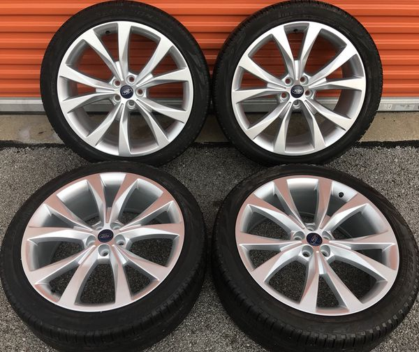 Inch Ford Edge Sport Mkx Oem Factory Wheels Rims Tires