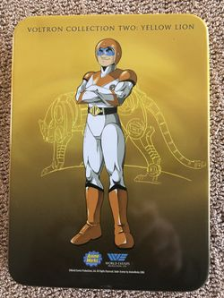 New never played voltron yellow edition dvds in rare collectible tin Thumbnail