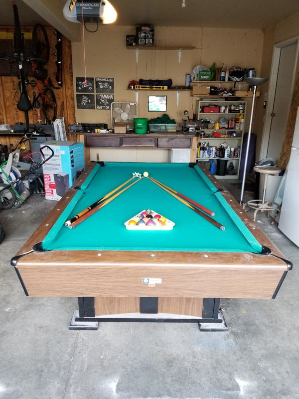 Ft Pool Table For Sale In Cottage Grove WI OfferUp - Pool table movers madison wi