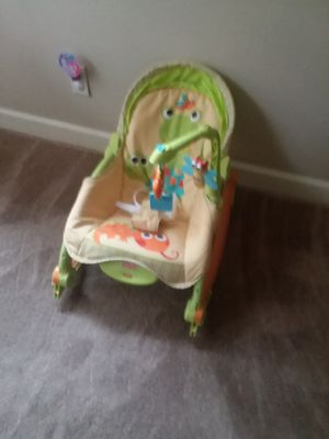 Photo Fisher Price infant to toddler rocking chair