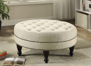 Oatmeal OTTOMAN for Sale in Hollywood, FL