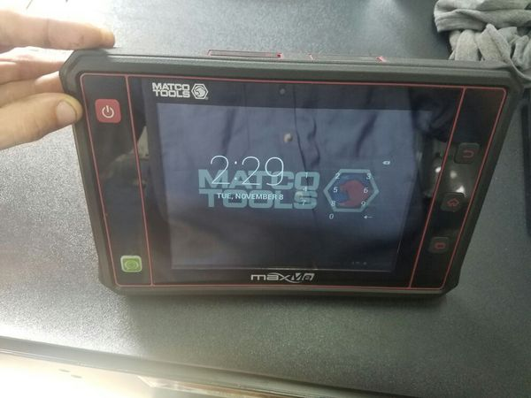 Matco tools maxme scanner by subscription only $20 per car a month or $105  for all cars for Sale in North Miami, FL - OfferUp