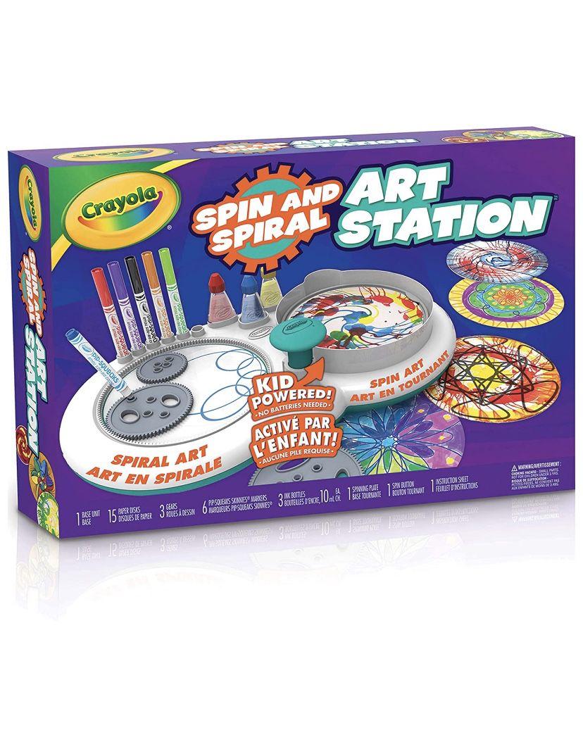 Cartola Spin And Spiral Art Station