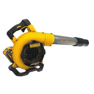 Photo DEWALT 60-Volt MAX Lithium-Ion Cordless FLEXVOLT 129 MPH 423 CFM Handheld Leaf Blower w/ (1) 3Ah Battery and Charger