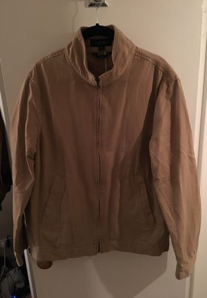 Beige casual jacket coat medium for Sale in Denver, CO