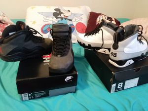 Jordan 10s size 8/5 $110, Jordan 9s size 8 $110 for Sale in Fort Belvoir, VA