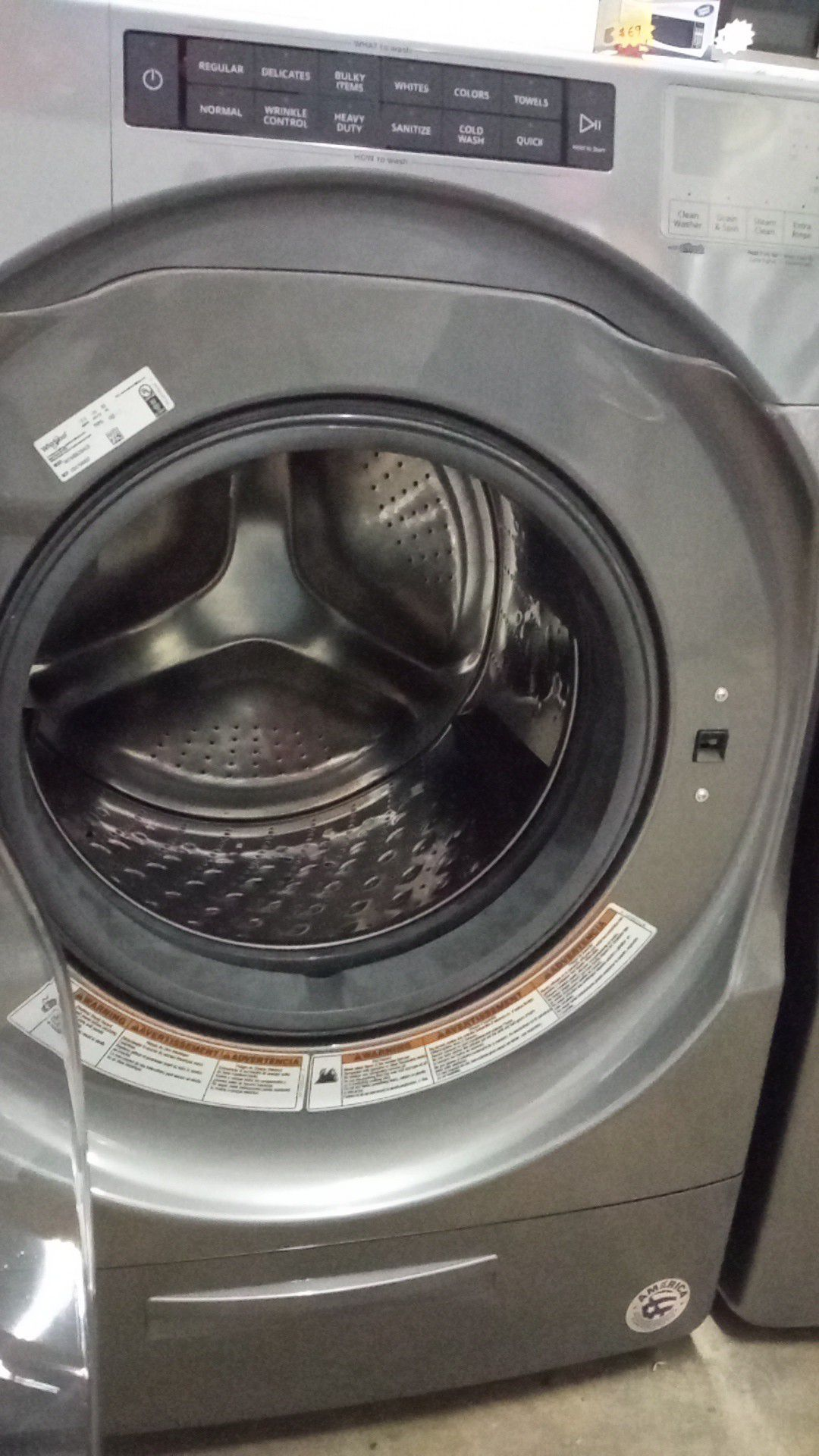 Lavadora Whirlpool.