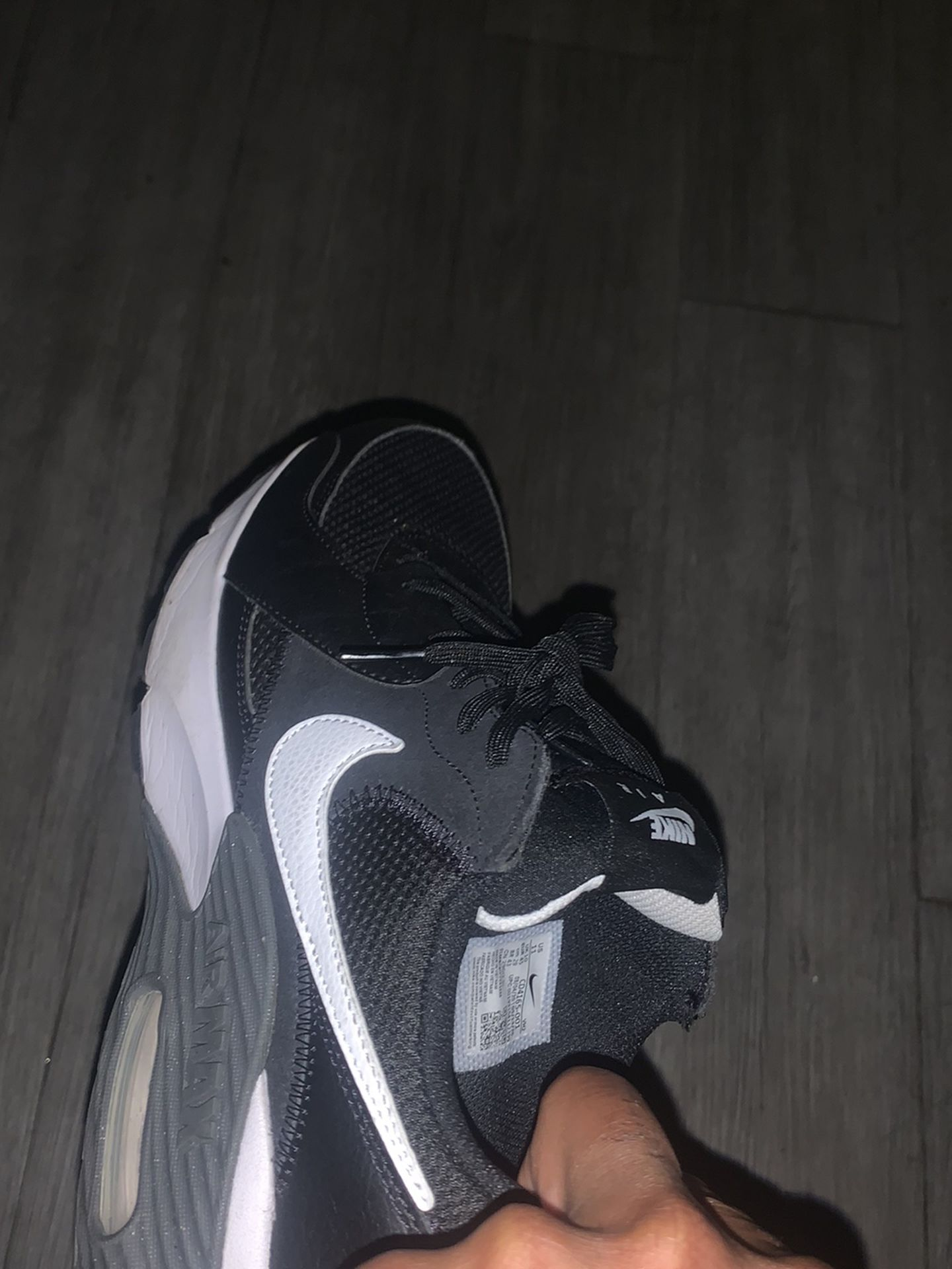 Air Max S Black Grey And White