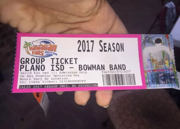 Hawaiian Falls Ticket for Sale in Plano, TX - OfferUp