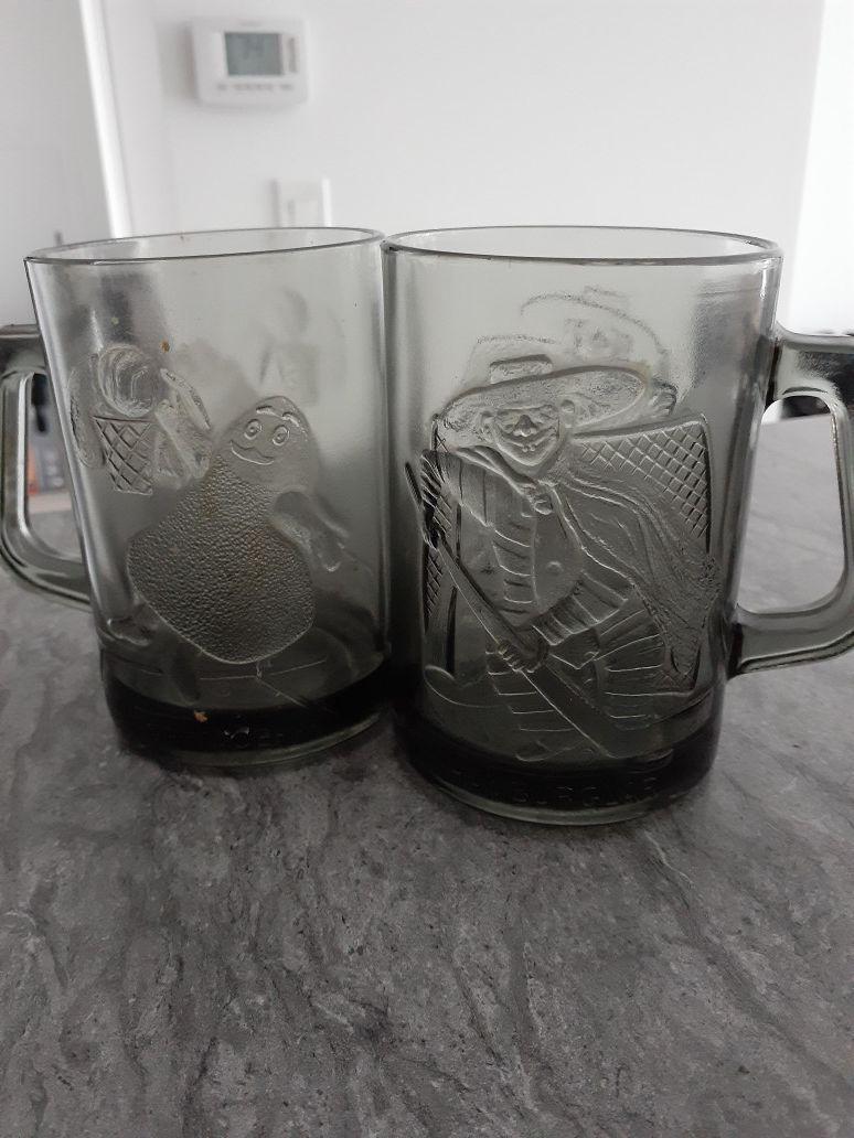 Vintage Smoked Mcdonalds Mugs