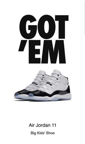 Air Jordan 11 Concord Size 7 Talk To Me Nice for Sale in Fort Washington, MD