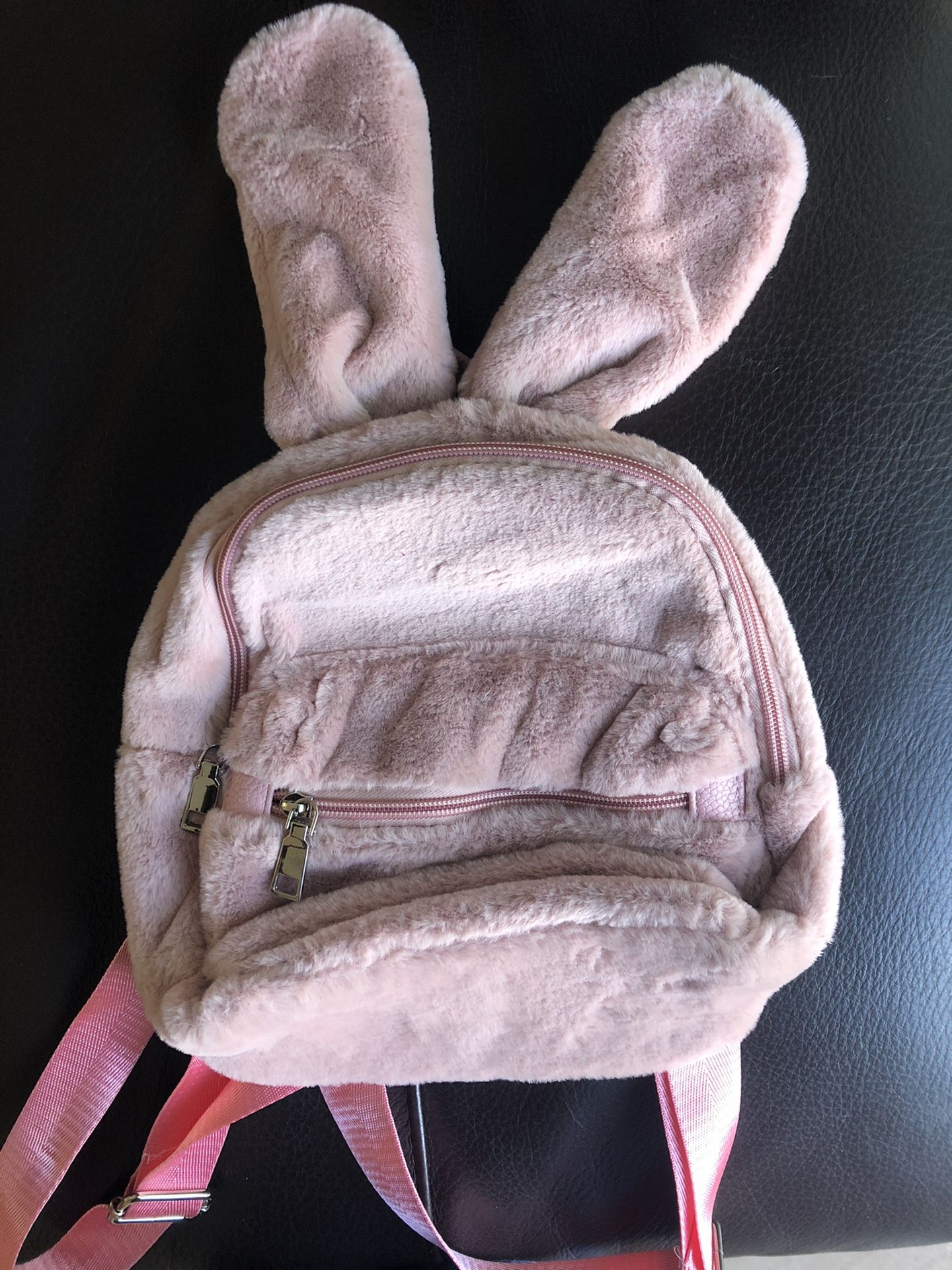 Bunny Backpack Color: Mauve
