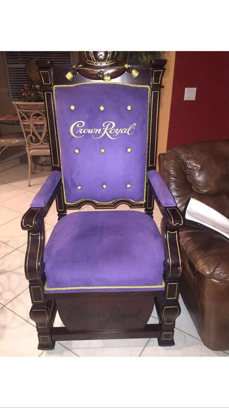 Crown Royal Throne For Sale In West Palm Beach  Fl