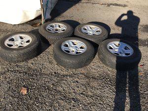 5 rims and tires 2010 Jeep Wrangler for Sale in Arlington, VA