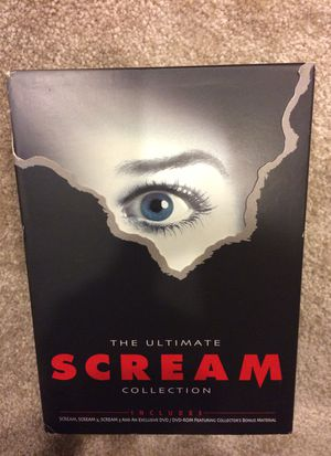 Scream DVDs (The Ultimate Collection) for Sale in Bethesda, MD