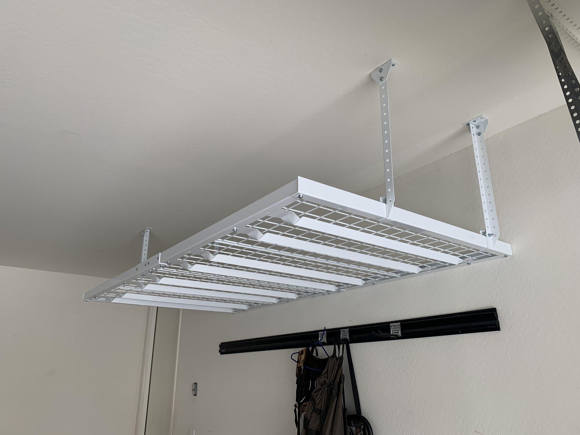 Garage Wall Mounted Metal Shelves