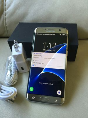 Samsung Galaxy s 7 edge , Unlocked .  Excellent condition   ( as like  New ) for Sale in West Springfield, VA