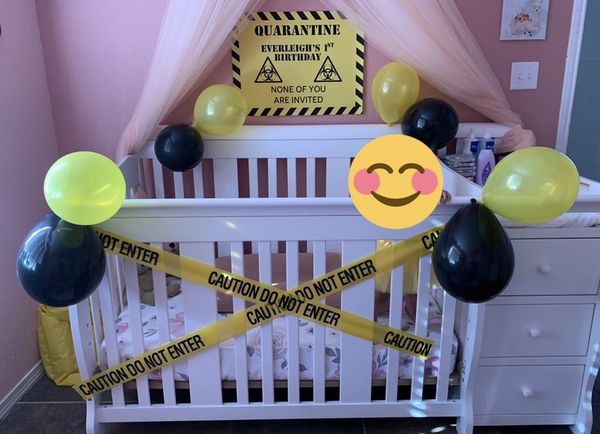 Baby Crib With Changing Table Attached For Sale In El Paso