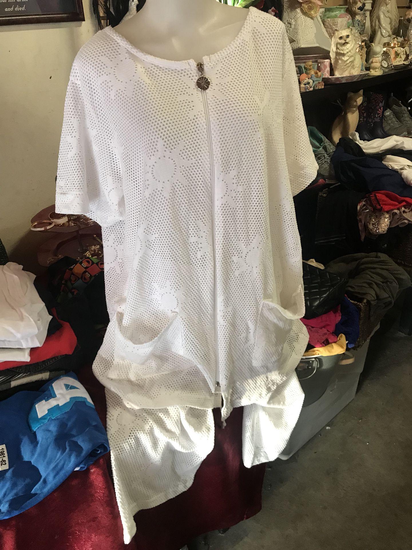 Pantalón y blusa para arriba del bikini XL