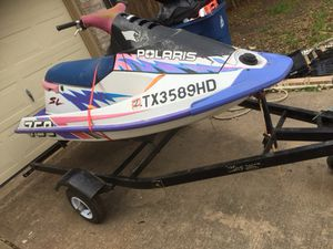 750 Polaris jet ski with trailer! for Sale in Austin, TX