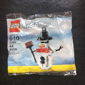 Lego creator snow man toy for Sale in Columbus, OH