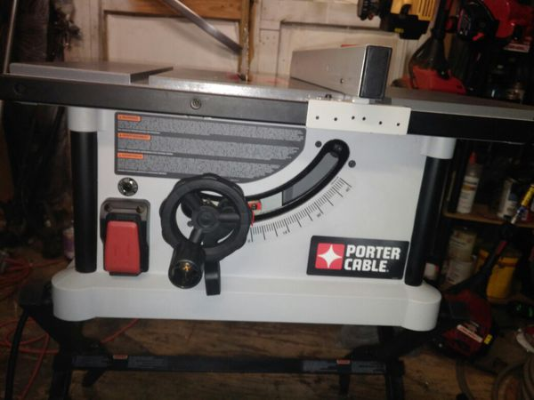 Porter cable 10 inch 15 amp table saw with stand tools machinery porter cable 10 inch 15 amp table saw with stand tools machinery in wilmer al offerup greentooth Choice Image