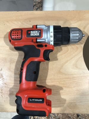 Photo Black and decker drill driver 12v no battery tool only