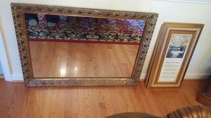 Large Antique Mirror for Sale in Chesterfield, VA